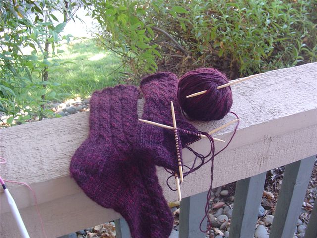August Knits