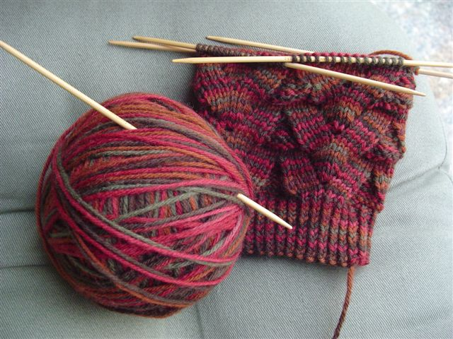 September Knitting