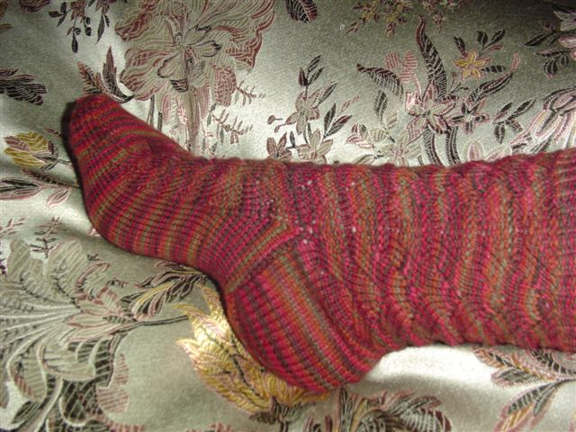 Monkey's Socks are Great... And Finished.