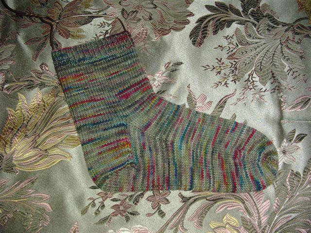 Colinette Jitterbug Simple Sock