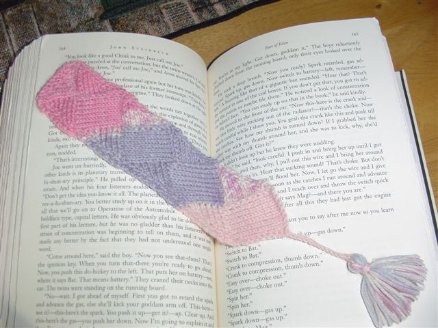 June Bookmark KAL ( Post NUMERO 8)