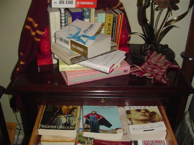 Hiding away in books
