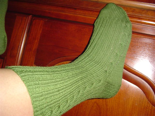 Finished Sock! Wonders never cease!